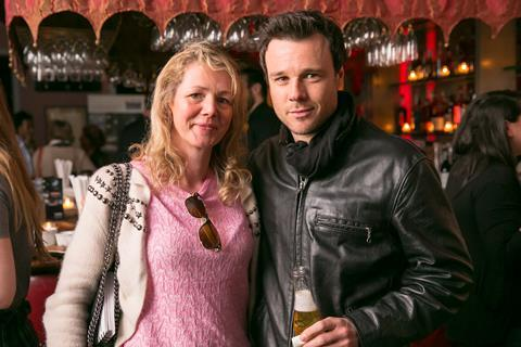 AnneMarie Naughton and Rupert Evans